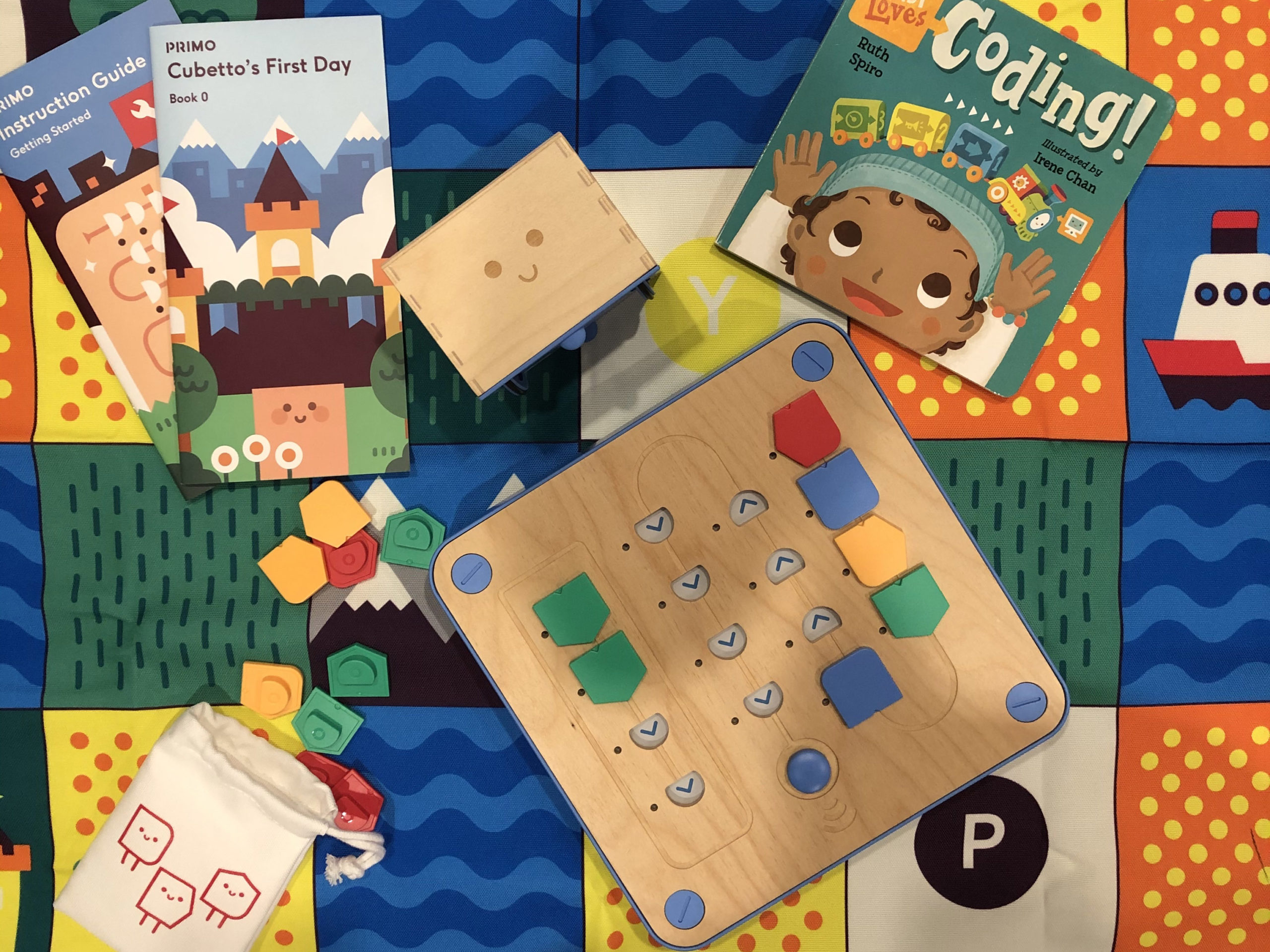 Cubetto Discovery kit Items
