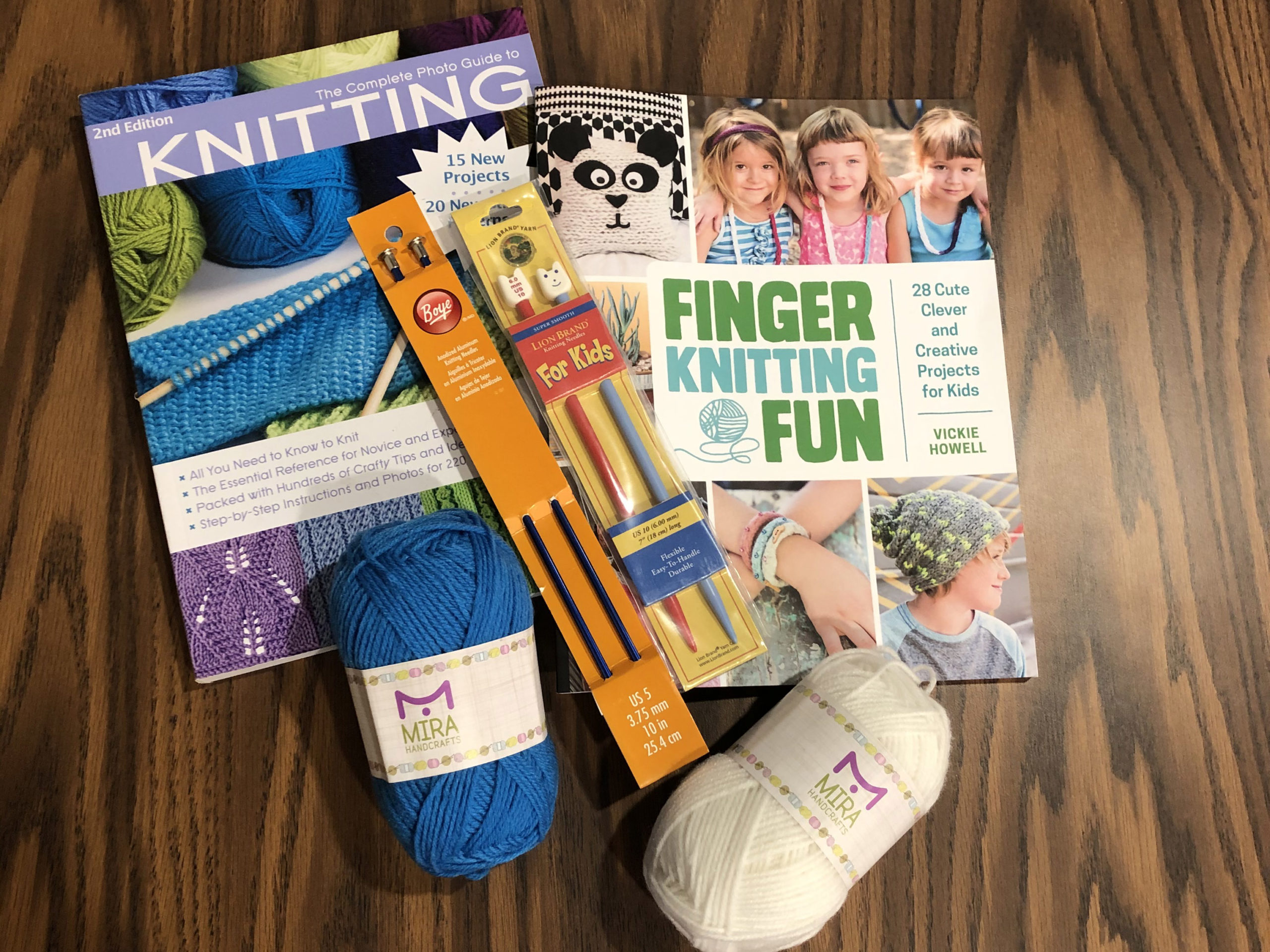 Knitting Discovery kit Items