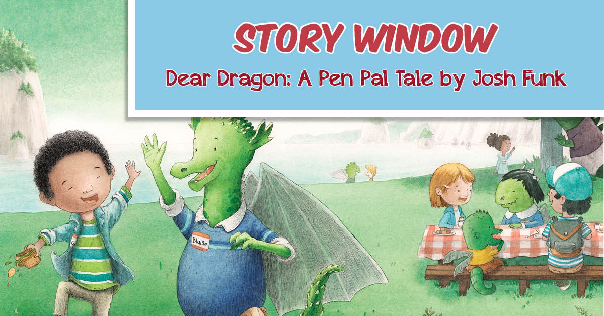 Story Window: Dragons Love Tacos