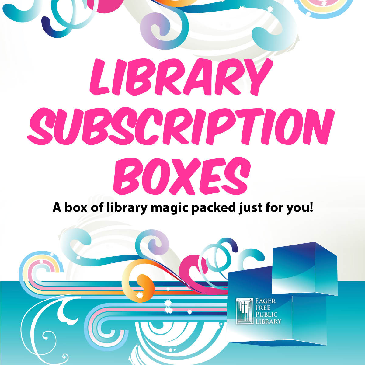 Library Subscription Box Artwork