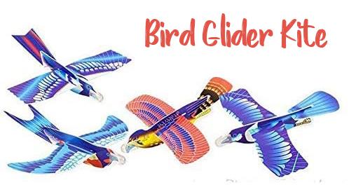 Foam bird glider kites