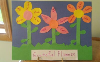 Gratitude Flower Craft
