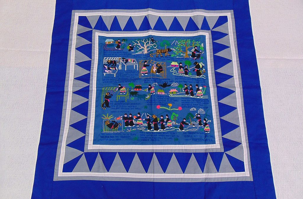 NEA Big Read – Telling Your Story Through Art: Embroidery