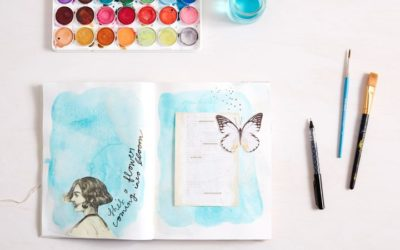 NEA Big Read – Telling Your Story Through Art –          Art Journaling