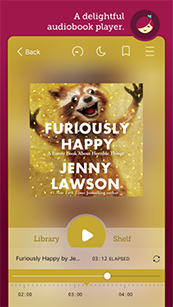 Phone Screenshot showing Libby Audiobook