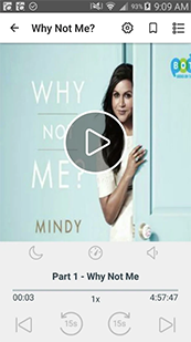 "OverDrive Audiobook called ""Why Not Me?"""