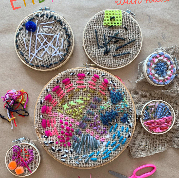 The SPARK To-Go: Hoop Embroidery