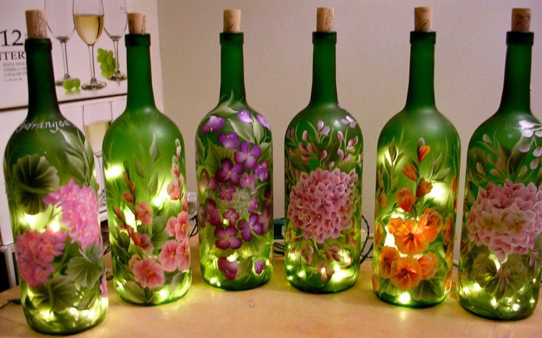 SPARK: Wine Bottle Lights
