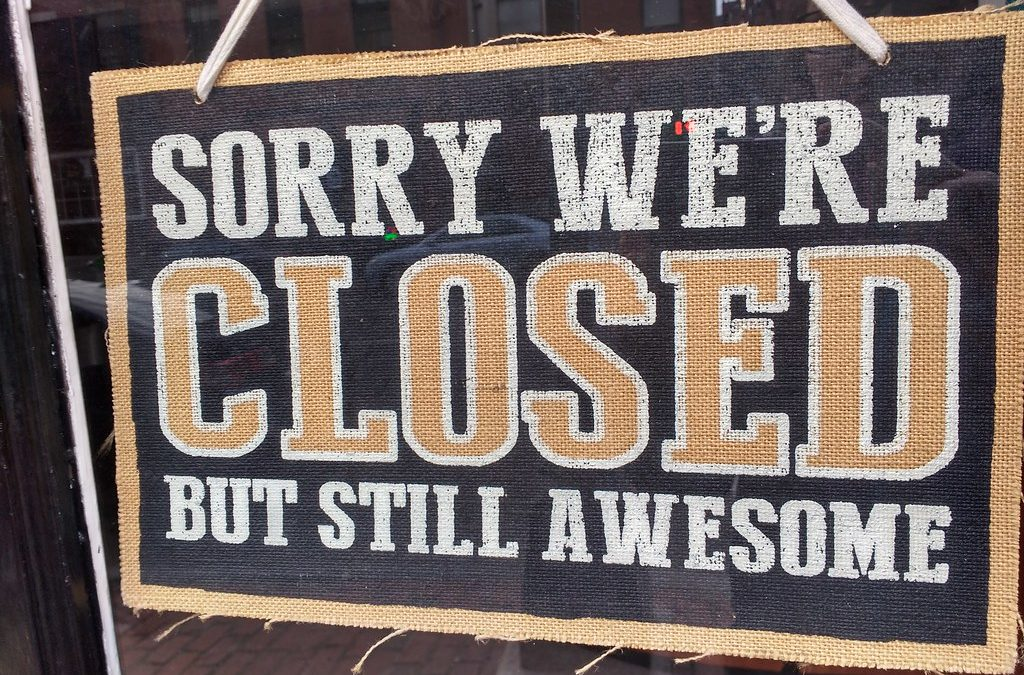 Closed for the New Year