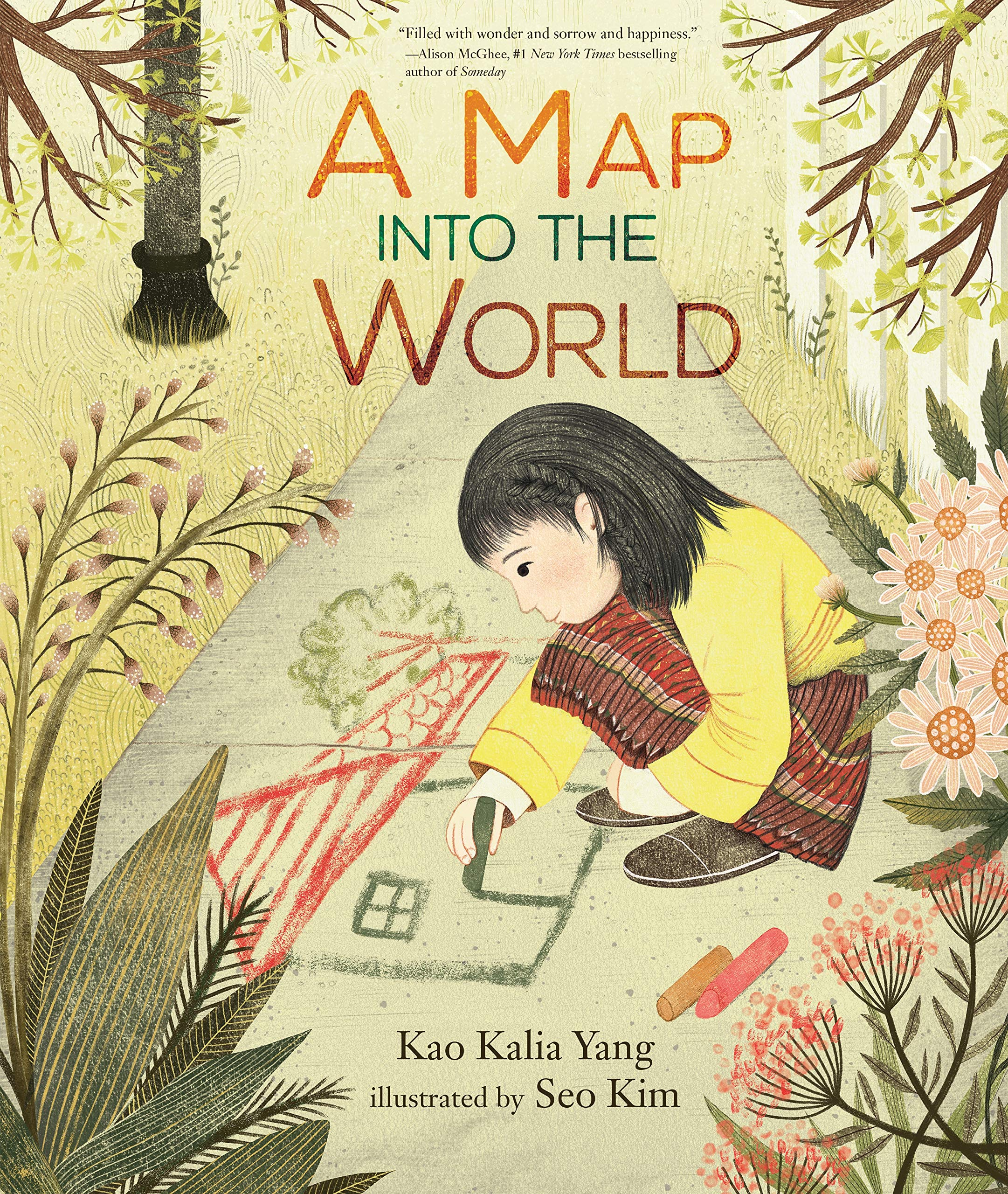 Book image of the the book A Map of the World by: Kao Kalia Yang