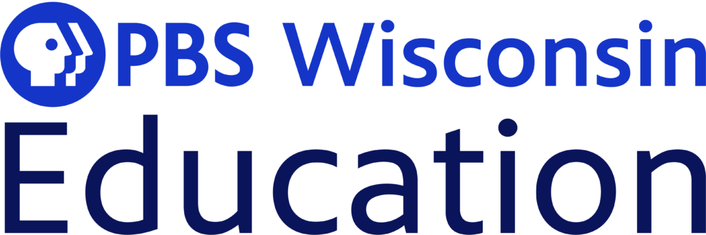 PBS Wisconsin Education loco in blue and dark blue