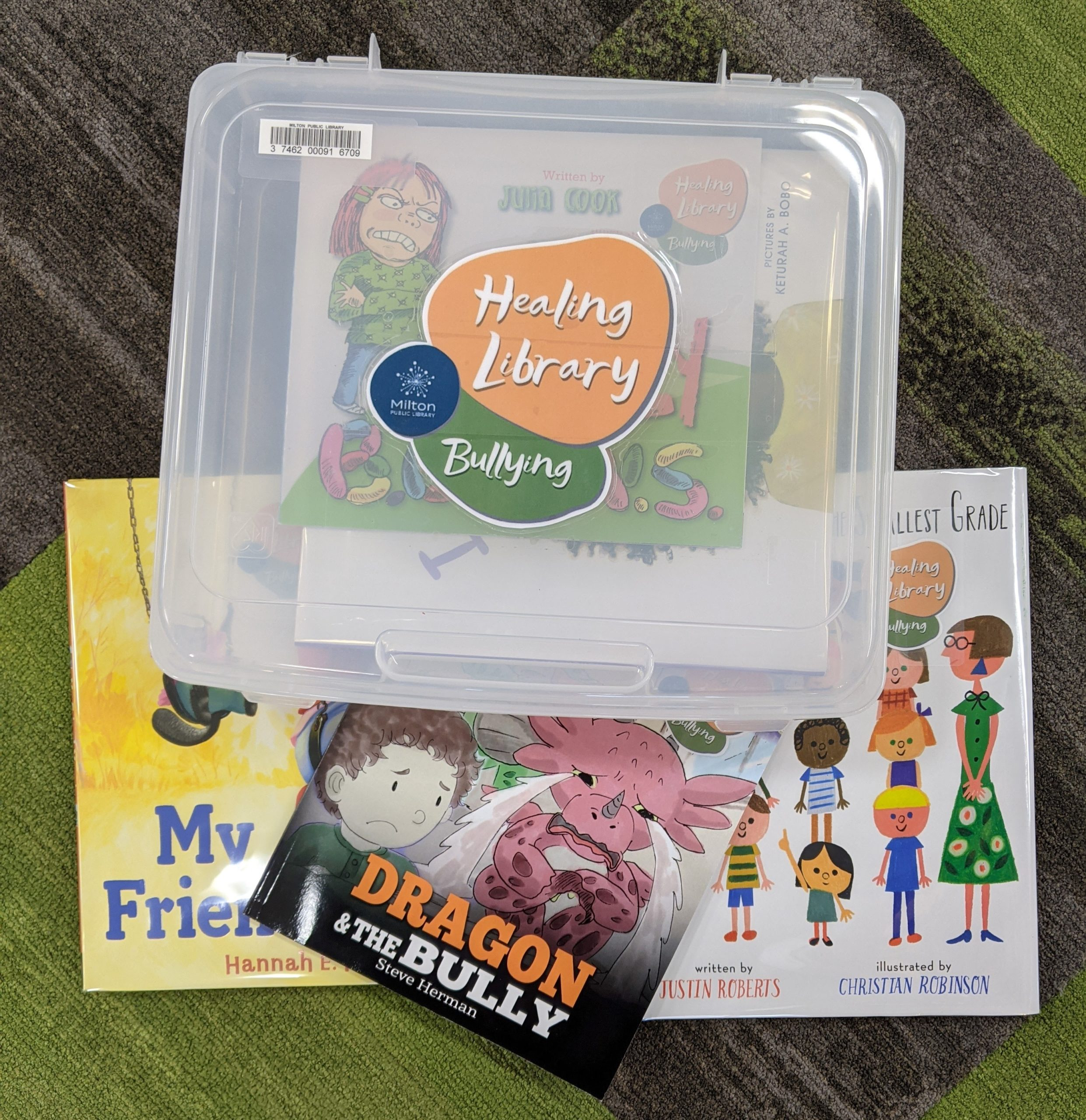 bullying healing library kit picture
