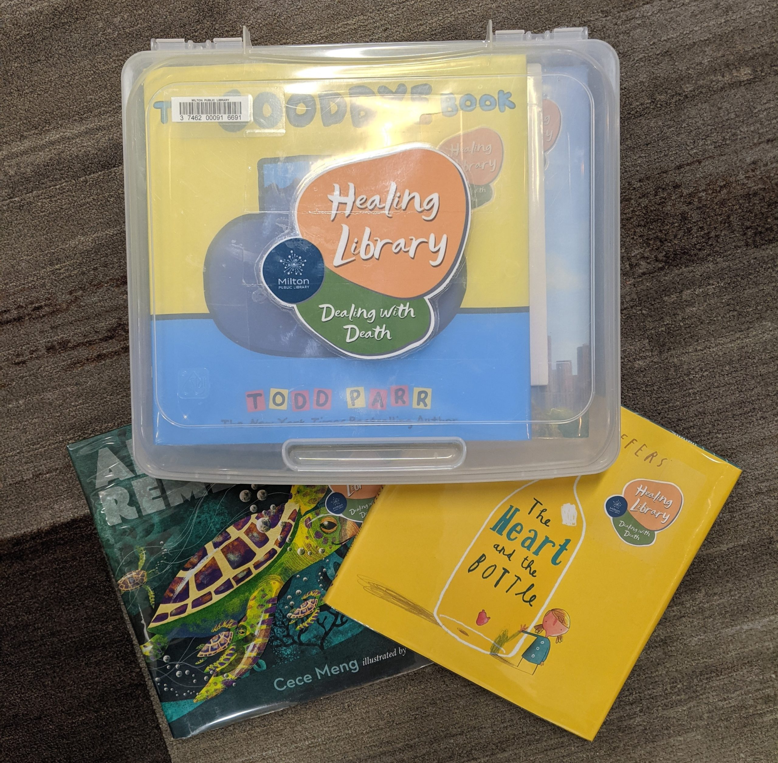 Dealing with Death Healing Library Kit picture