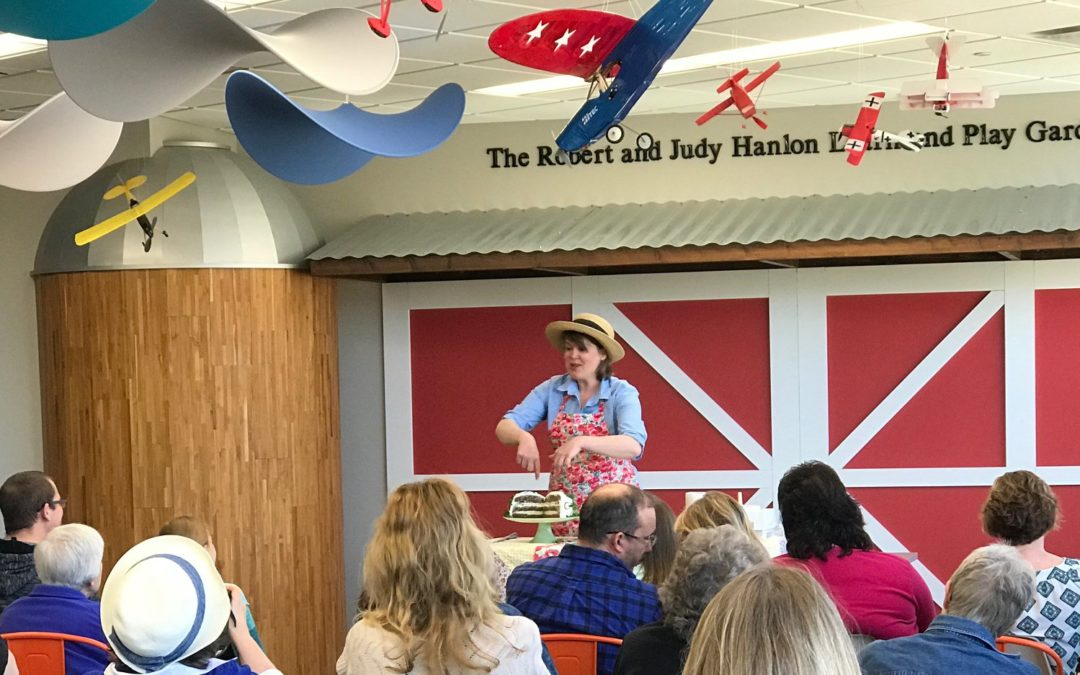 Milton Public Library Hosts a Cooking Demonstration by Inga Witscher of Wisconsin Public Television