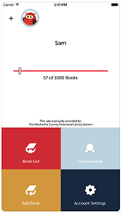 1000 Books App Screenshot