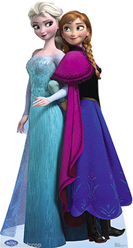 Frozen: Anna and Elsa