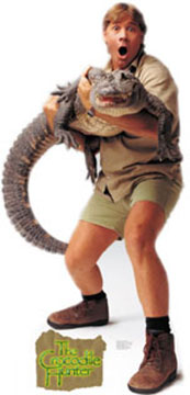 "Steve Irwin ""Crocodile Hunter"""