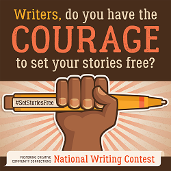 "National Short Fiction Contest: ""Courage"""