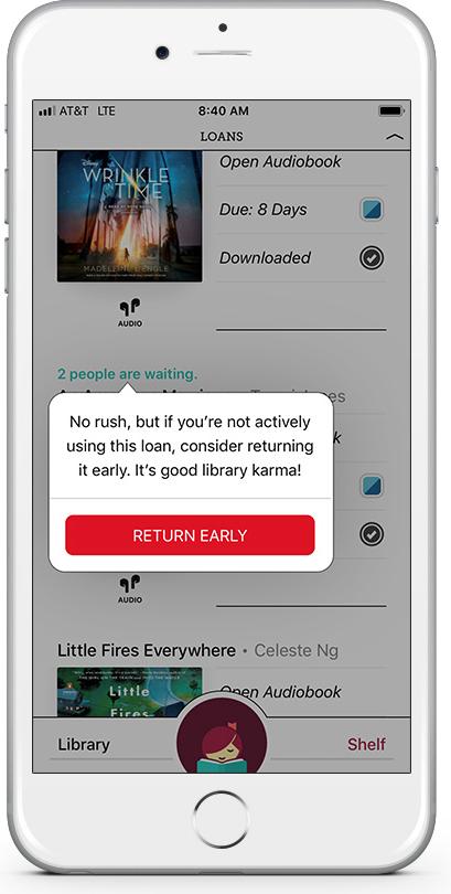 Mobile phone screen shot: new