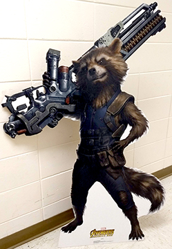Rocket Raccoon - Infinity War