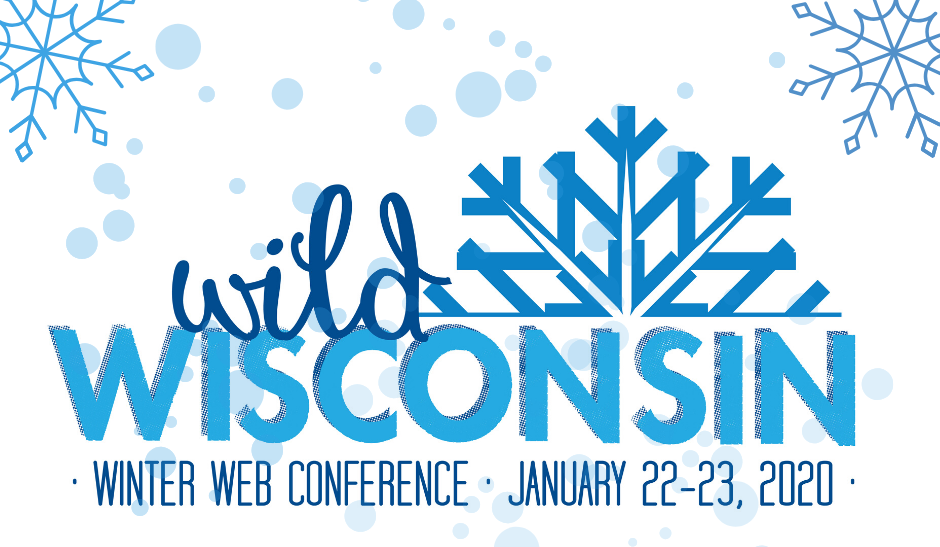 Wild Wisconsin Winter Web Conference Logo - 2020