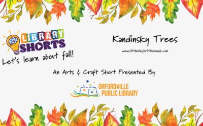 Art: Kandinsky Tree Craft