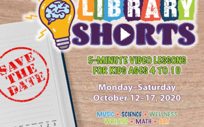Save the date! Library Shorts are coming.