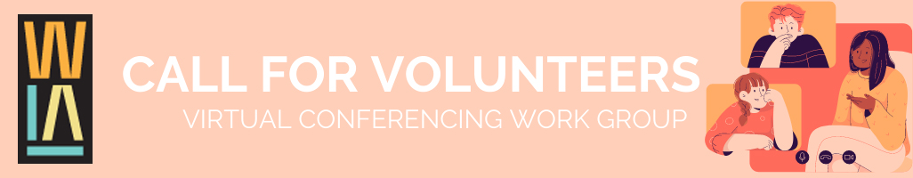 Banner: Call for volunteers