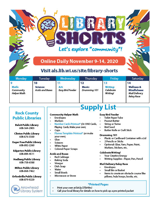 sample of supply list