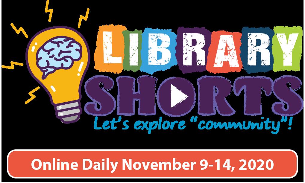Library Shorts logo and dates: November 9-14