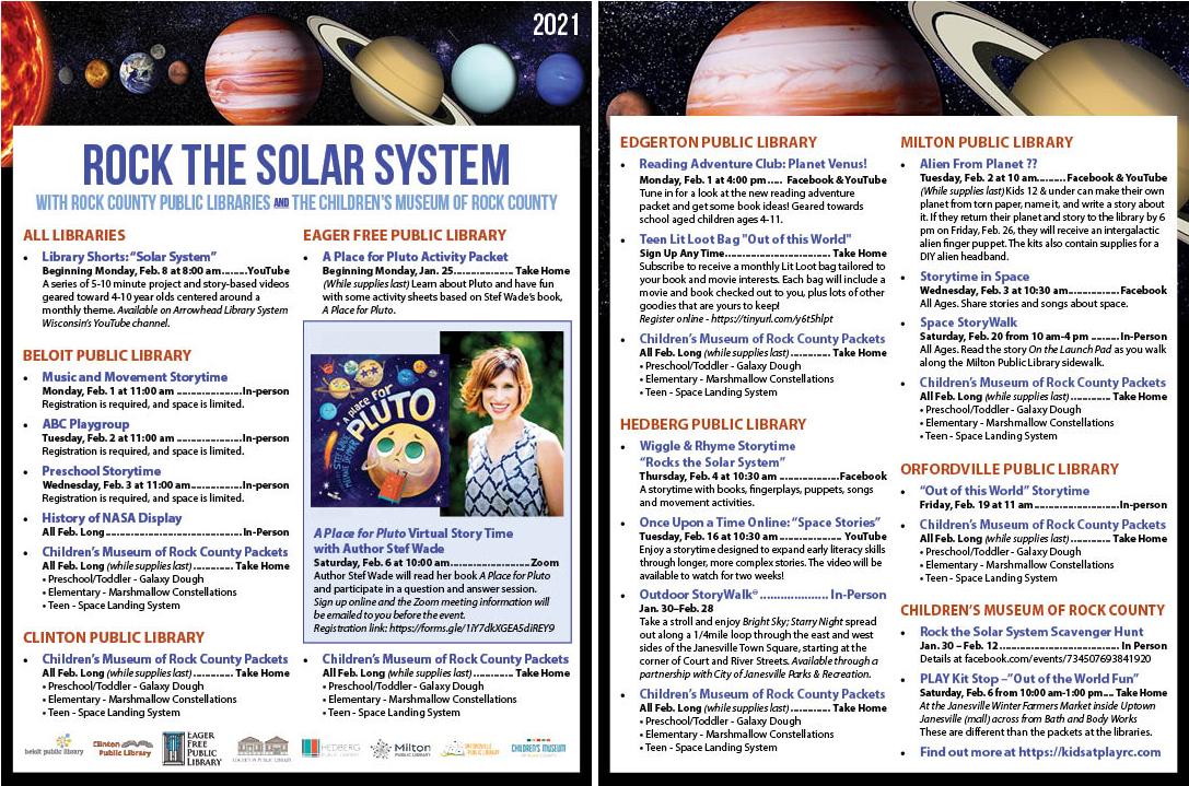 Solar System Schedule