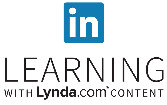 Logo: LinkedIn Learning with Lyndal.com content