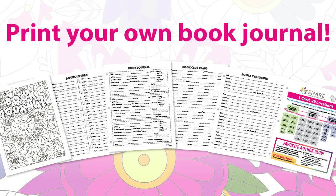 Print a Book Journal